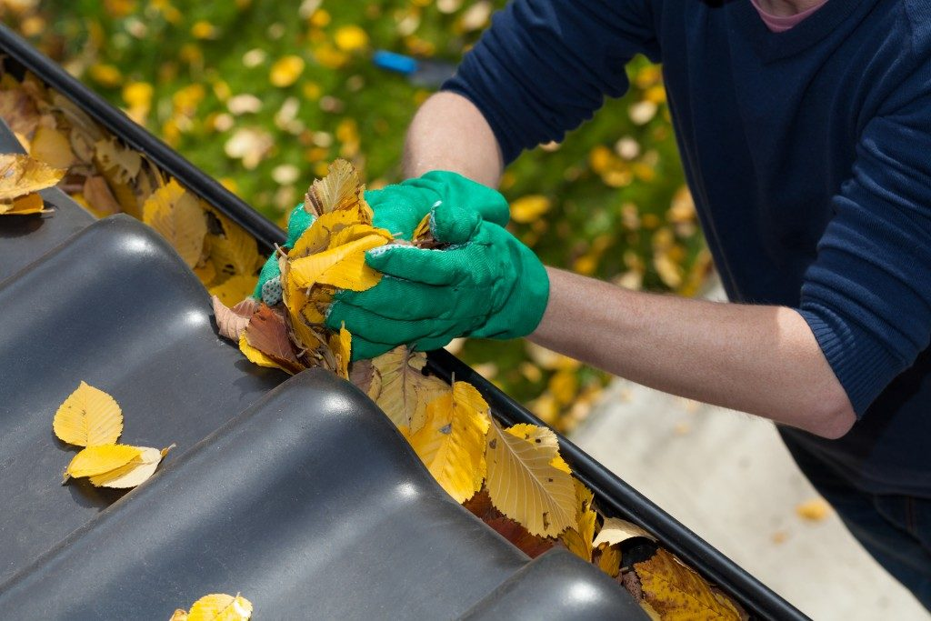 cleaning your gutter