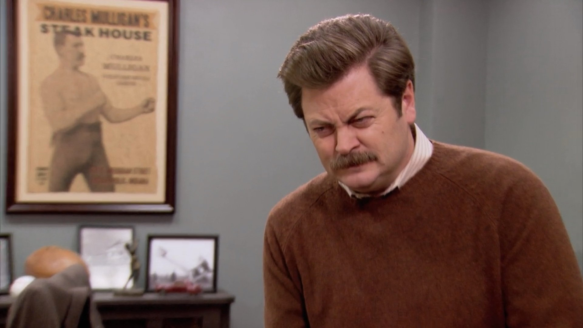 ron-swanson-wearing-a-sweater